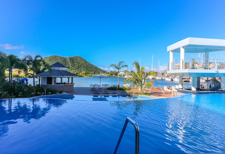 Harbor Club St. Lucia, Curio Collection by Hilton, Gros Islet, Infinity Pool
