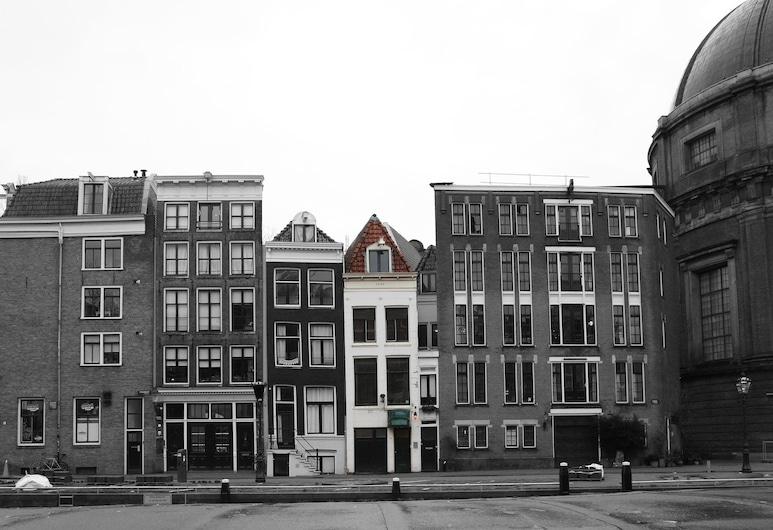Hotel Canal View, Amsterdam, Hotel Front