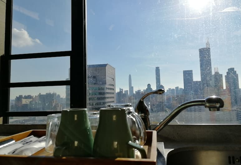 Mamaya Apartment Hotel, Shenzhen, Classic Double Room, City View