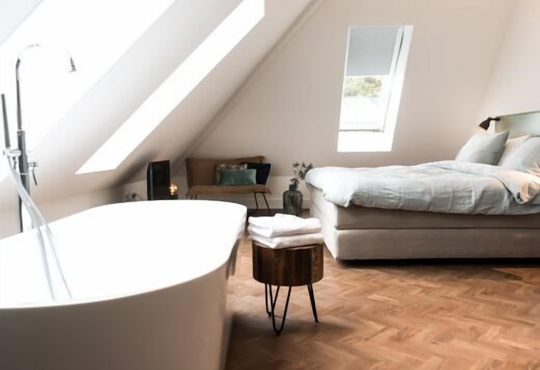 Hotel De Bankier, Cuijk, Superior Double Room, 1 King Bed, Guest Room