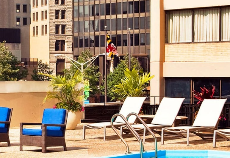 Crowne Plaza Baltimore - Inner Harbor, an IHG Hotel, Baltimore, Zwembad