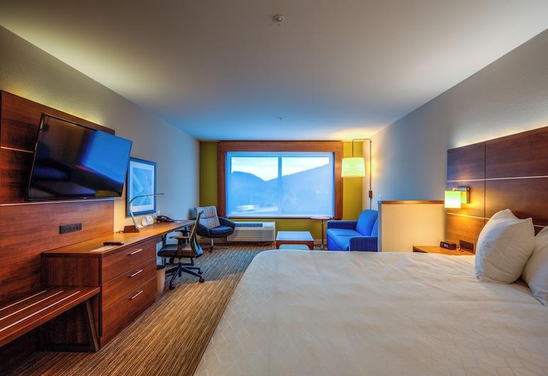Holiday Inn Express & Suites Reedsville - State Coll Area, Reedsville, Süit, 1 En Büyük (King) Boy Yatak, Engellilere Uygun, Sigara İçilmez (Transfer Shower), Oda