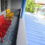 Double Room with Private Bathroom and Air Condition     - Balkoni