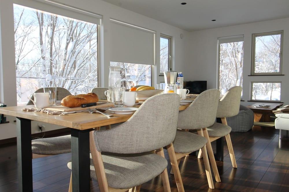Hus – panoramic, 2 soverom - Bespisning på rommet