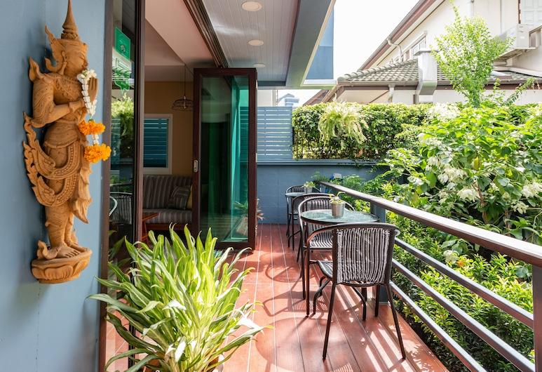 マニーヤ パーク レジデンス, バンコク, The Dusit Executive Suite @Maneeya Park, テラス / パティオ