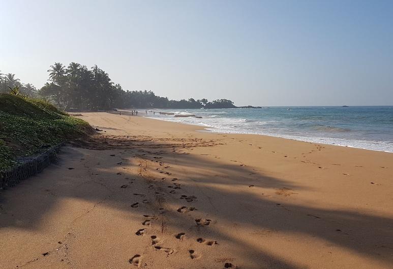 Siriniwasa Villa Induruwa, Bentota, Strand