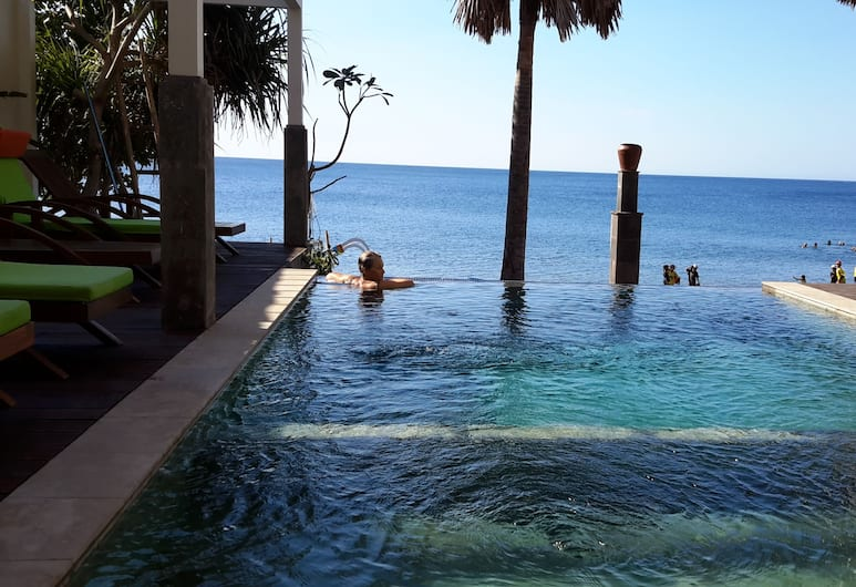 Amed Beach Villa, Karangasem, Infinity Pool