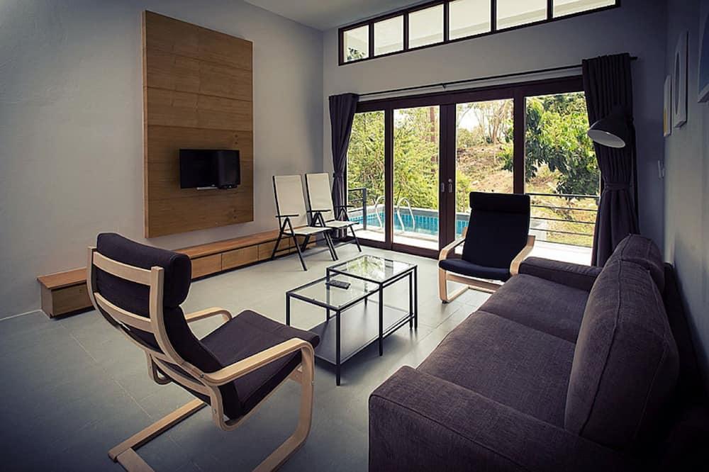 2 Bedroom Villa - Living Room