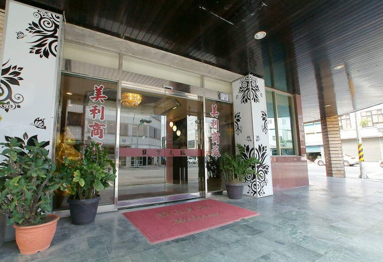 洋洲大飯店, 台東市, 入口
