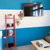 Familieværelse til 3 personer - 1 soveværelse - Opholdsområde
