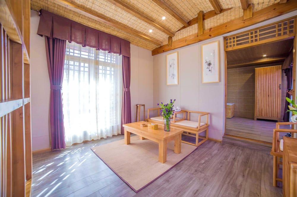 Luxusní apartmá, dvojlůžko (200 cm) - Obývací prostor