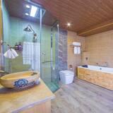 Luxusní apartmá, dvojlůžko (200 cm) - Koupelna