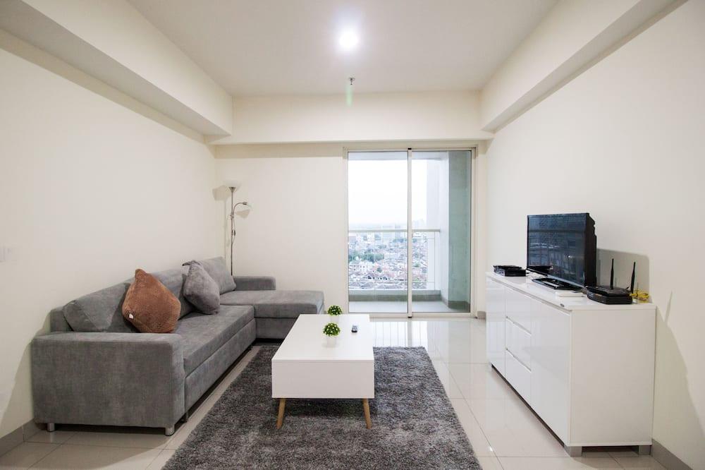 Paaugstināta komforta dzīvokļnumurs, divas guļamistabas - Dzīvojamā zona