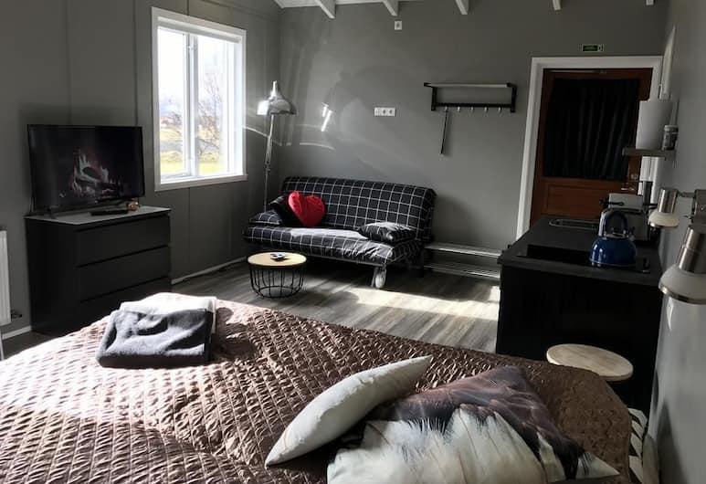 Elding Apartments, Sveitarfélagid Ölfus, Basic Studio, 1 Queen Bed (1), Living Room