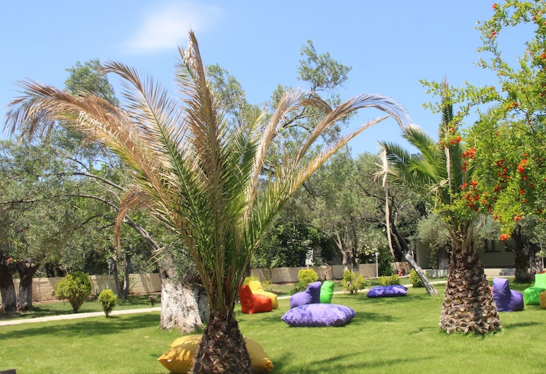Assos Kayalar Blue Beach Hotel, Ayvacik, Garten