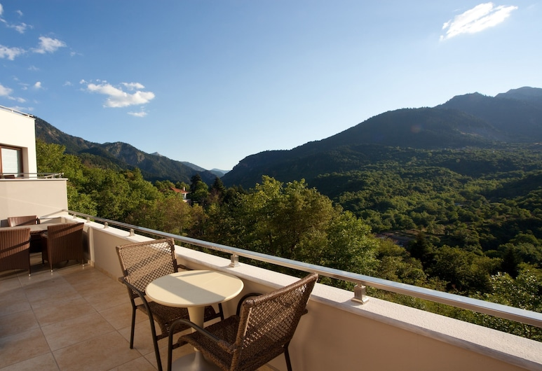 Forest Suites Boutique Hotel, Karpenisi, Junior Suite, Fireplace (Forest View), Balcony