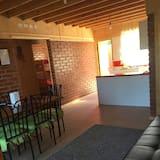 Casa de Campo, 2 Quartos - Área de Estar