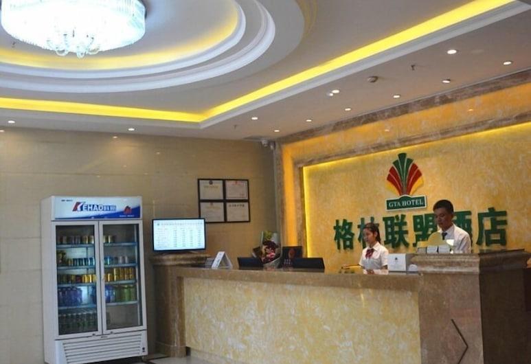 GreenTree Alliance Shenzhen Baoan Fuyong Bus Station Hotel, Shenzhen, Reception
