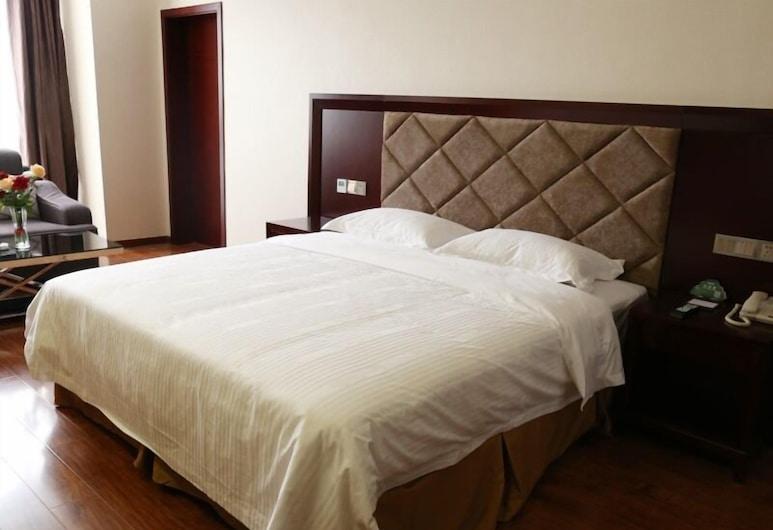 GreenTree Inn SiChuan Chengdu Airport Road Zhujiang Road Express Hotel, Chengdu, Quarto