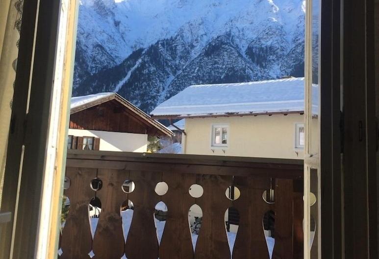 Pension Karner, Mittenwald, Habitación Confort doble, 1 cama de matrimonio grande, Balcón