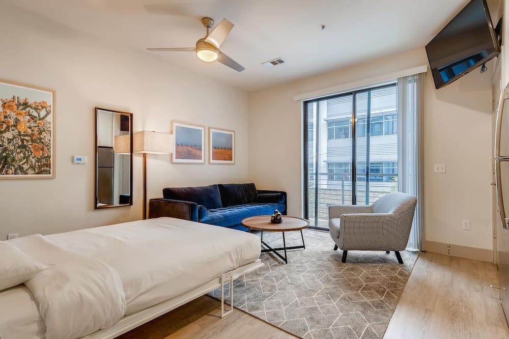 Leilighet, 1 queensize-seng, ikke-røyk, kjøkken - Oppholdsområde
