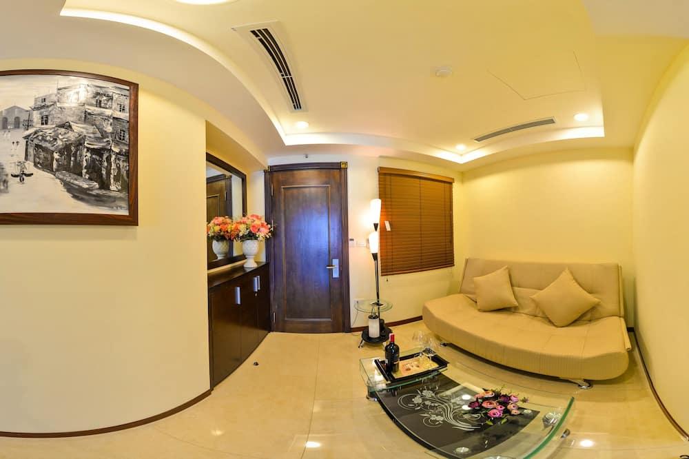 Suite, Balkon - Wohnzimmer