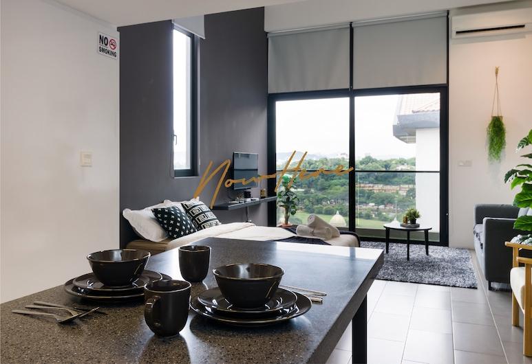 NowHere Boutique Suites @ EST KL Sentral, Kuala Lumpur, Loft Deluks, Beberapa Tempat Tidur, Area Keluarga