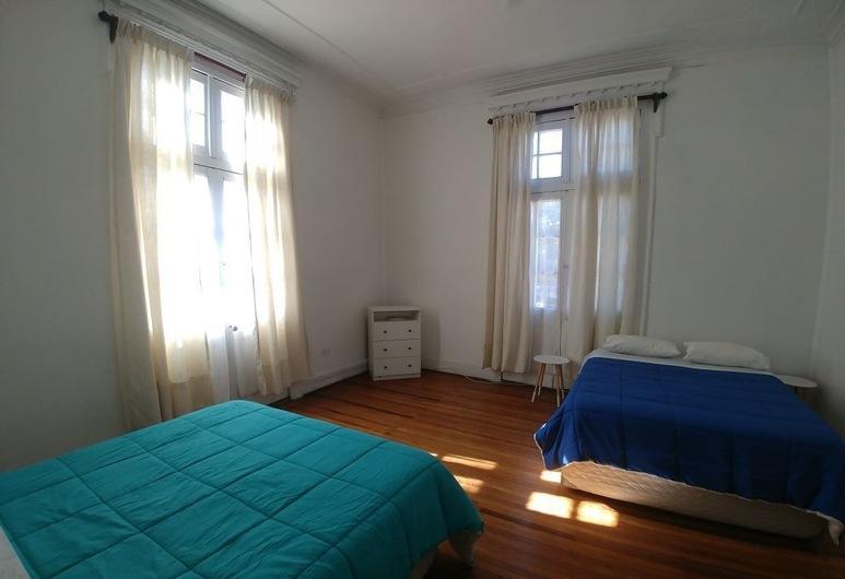 Hostal Amelie, Vina del Mar, Pokój dwuosobowy, Łóżko podwójne, prywatna łazienka, Pokój