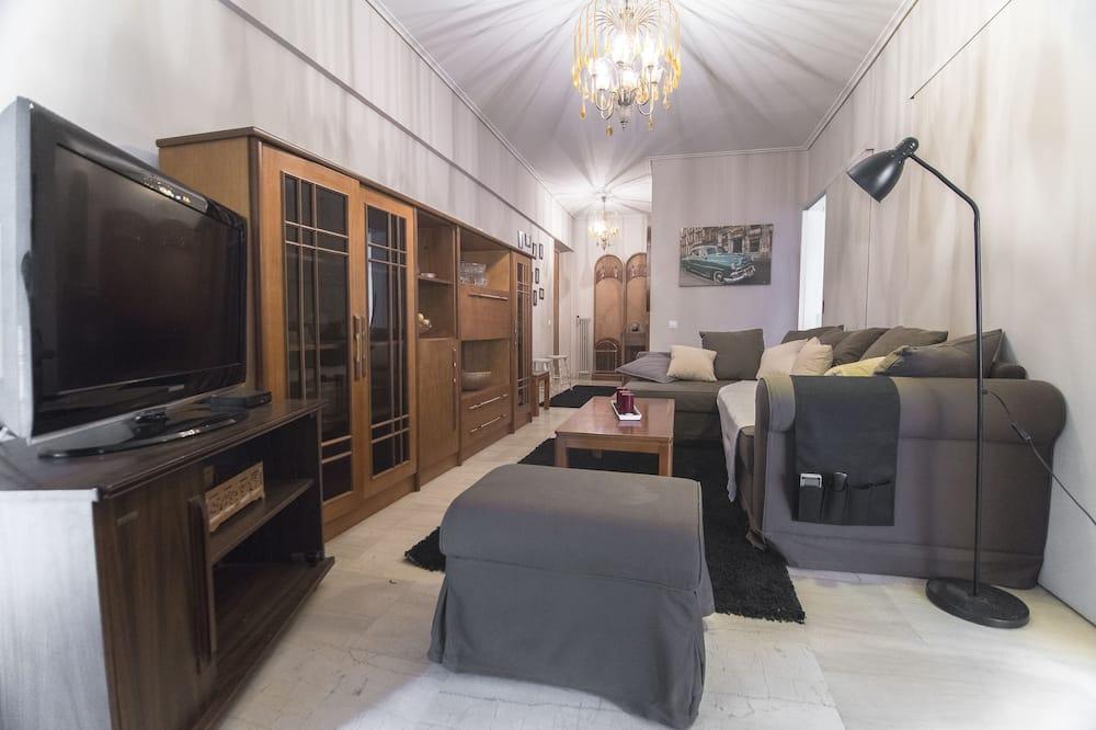 Apartamento, Sacada - Área de estar