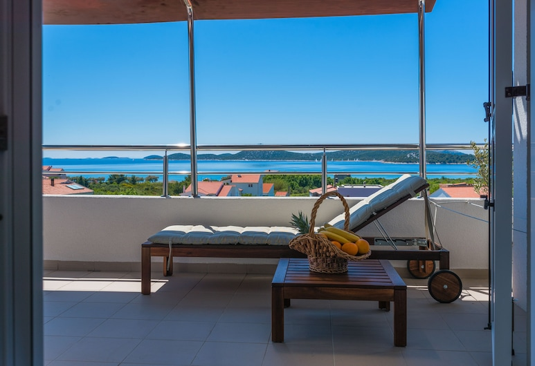 Apartments Arausa with Pool, Vodice, อพาร์ทเมนท์ (9), ระเบียง