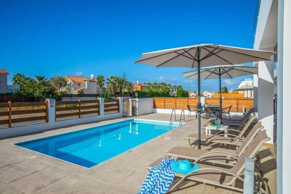 Villa, 3Schlafzimmer, eigener Pool - Privatpool