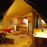 Tent, 3 slaapkamers (Safari) - Woonruimte