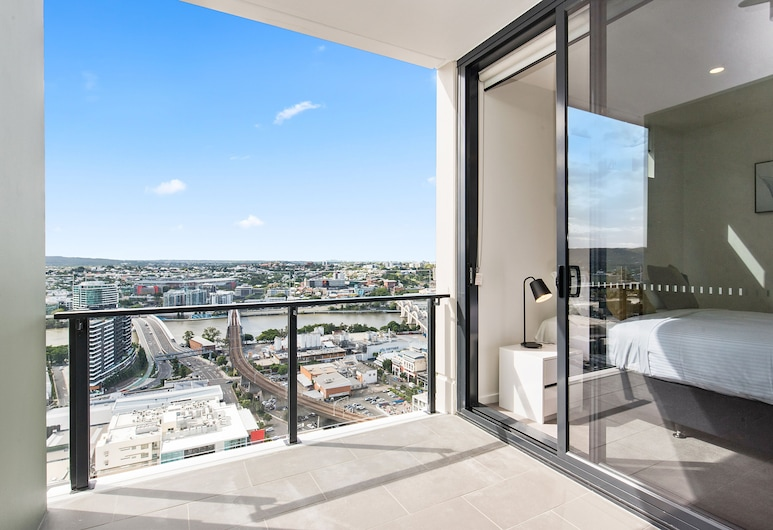 Arise Ivy and Eve, South Brisbane, Apartment, 1 Bedroom, Balcony