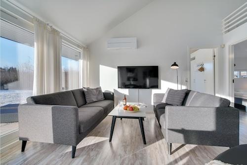 Brovstの3室の宿泊施設/