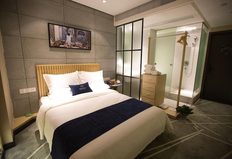道達尚品酒店, 廣州市, 舒適雙人房, 1 張加大雙人床, 客房