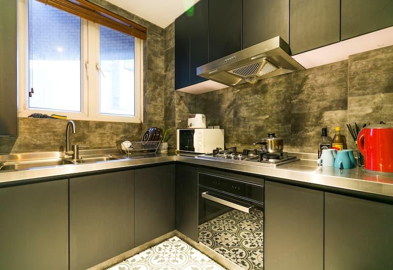 拾間城市精品公寓人民廣場店, 上海市, 豪華四臥室公寓, 私人廚房