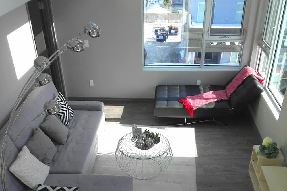 Signature-Loft, 2Schlafzimmer, Küche - Wohnbereich