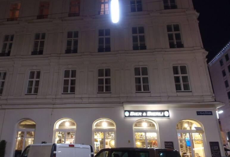 Kaiserin Elisabeth Suite by Welcome2Vienna, Viena, Apgyvendinimo įstaigos fasadas vakare