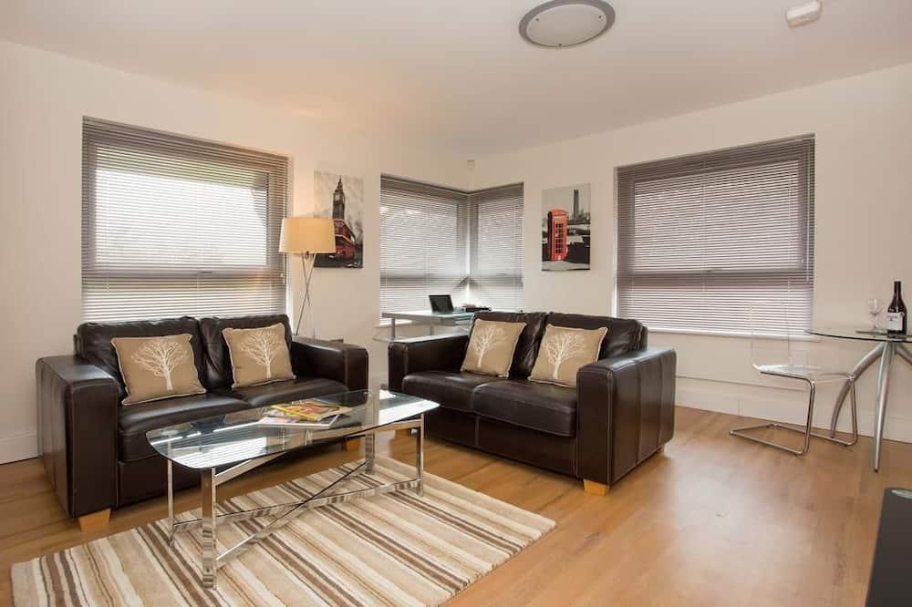 Suite Studio Affaires, 1 chambre, vue ville - Coin séjour