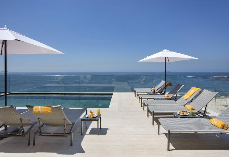 Windsor Califórnia Hotel, Rio de Janeiro, Terrasse/veranda