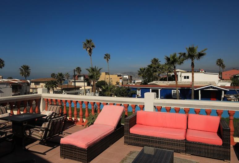 Playa Hermosa Bed and Breakfast, Ensenada, Terraza o patio
