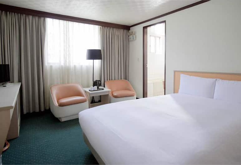 Tien Chin Hotel, Taipei, Superior - kahden hengen huone, 1 parisänky, Vierashuone