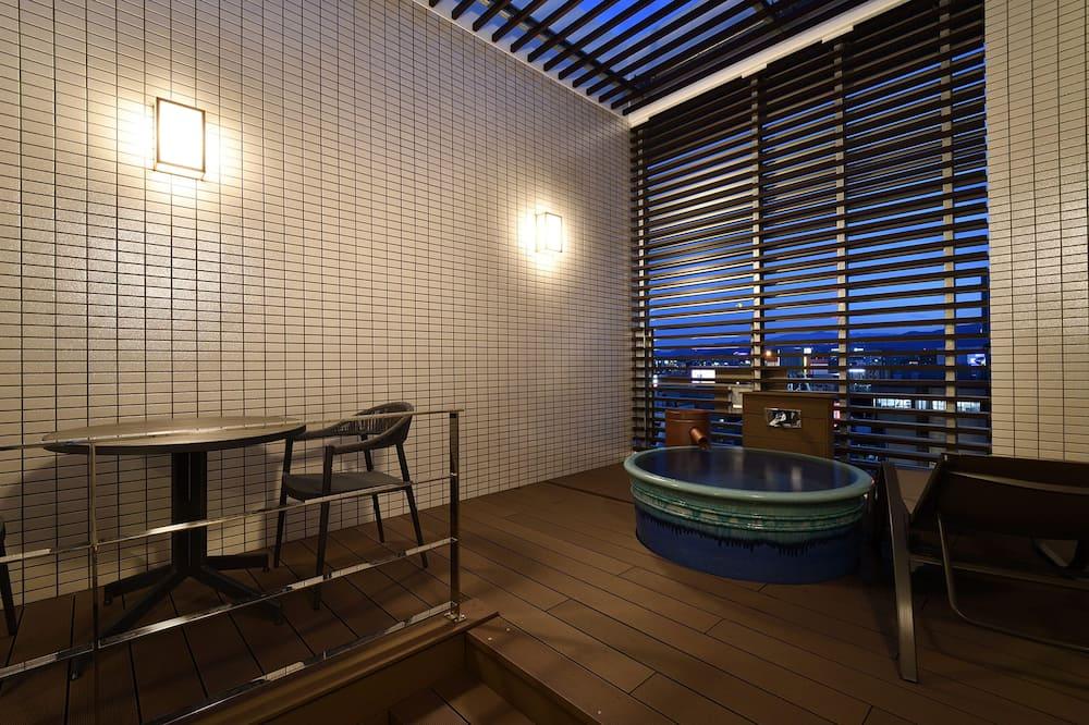Chambre Royale avec lits jumeaux, non-fumeurs - Salle de bain