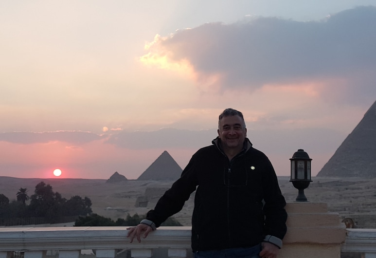 Royal pyramids Inn, Giza, Balcony