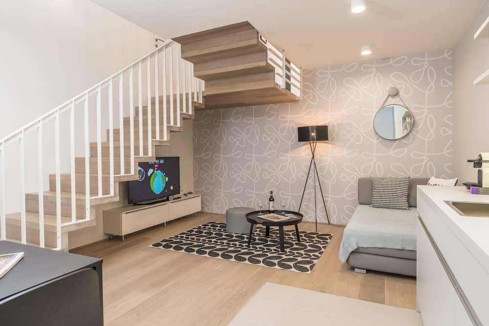 Departamento Deluxe (Cleaning Fee Included) - Sala de estar