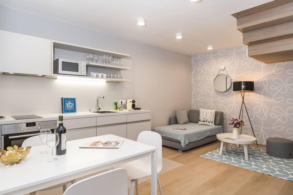 Departamento Premium (Cleaning Fee Included) - Sala de estar