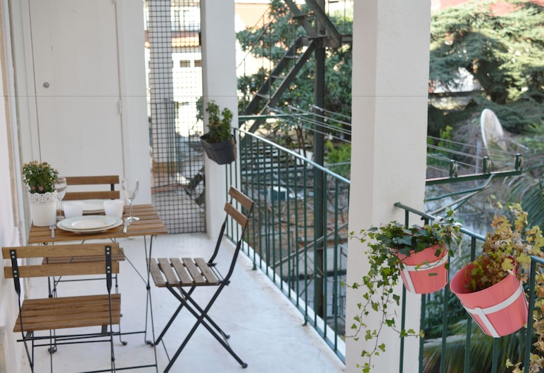 Santa Catarina Terrace by Homing, Lisboa, Leilighet, 2 soverom, terrasse (3rd Floor), Balkong