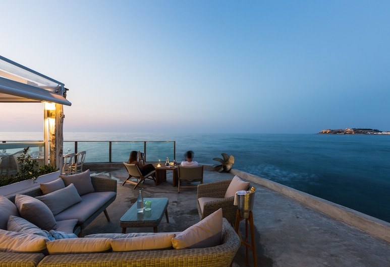 Thalassa Boutique Hotel- Adults Only, Rethymno, Lounge no Hotel