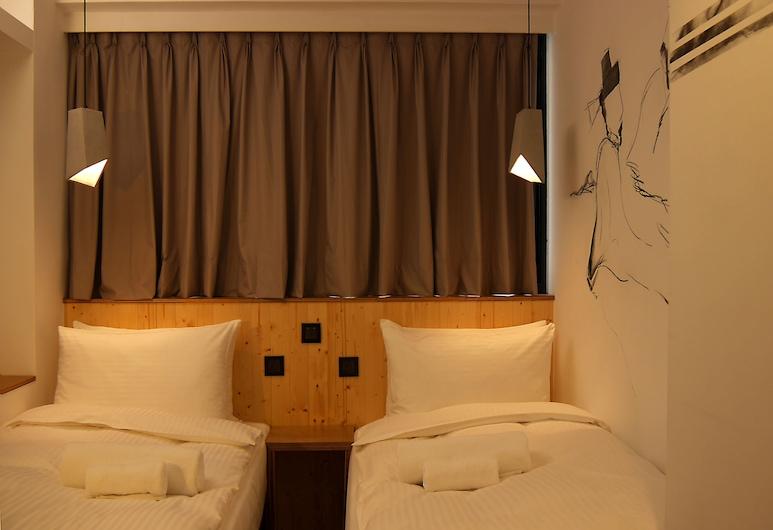 正旅館, 台北市, 標準雙床房, 2 張單人床, 客房
