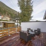 Senior suite, 3 slaapkamers, keuken - Terras